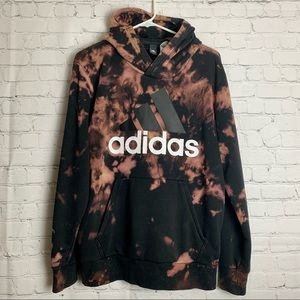 ADIDAS Upcycled Unique Bleached Hoodie Unisex
